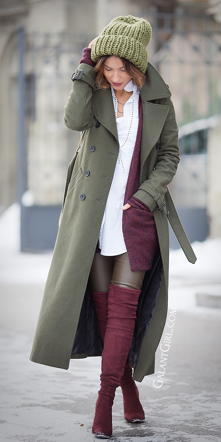 burgundy-shoe-boots-otk-green-olive-leggings-beanie-gloves-burgundy-cardiganl-green-olive-jacket-coat-fall-winter-hairr-lunch.jpg