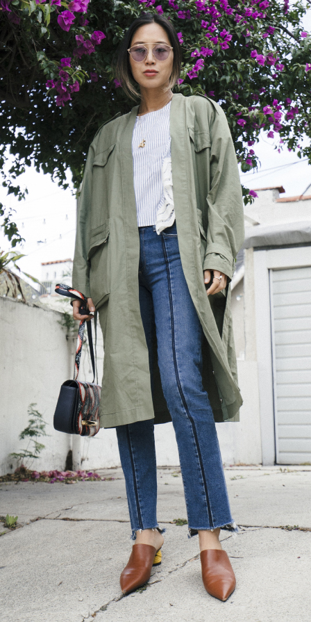 blue-med-skinny-jeans-white-top-cognac-shoe-booties-trench-green-olive-jacket-coat-fall-winter-hairr-lunch.jpg