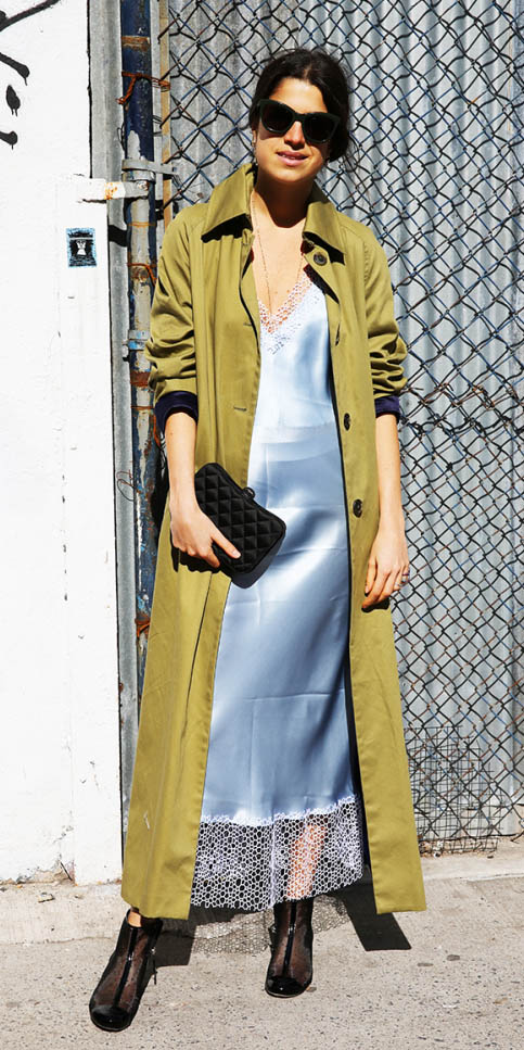 grayl-dress-slip-maxi-silk-green-olive-jacket-coat-sun-black-shoe-booties-howtowear-spring-summer-brun-dinner.jpg