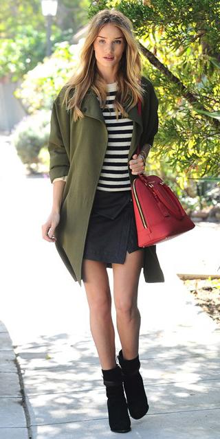 black-mini-skirt-black-sweater-wear-style-fashion-fall-winter-green-olive-jacket-coat-red-bag-hand-rosiehuntingtonwhiteley-black-shoe-booties-blonde-lunch.jpg