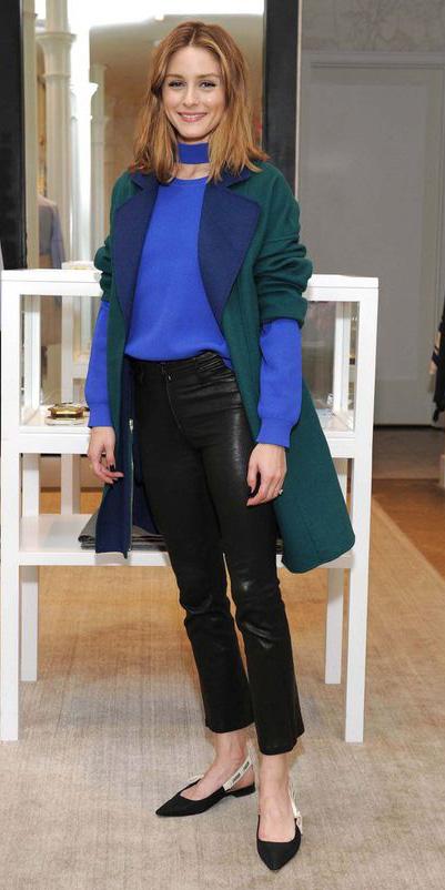 black-skinny-jeans-blue-med-sweater-cobalt-green-dark-jacket-coat-hairr-black-shoe-flats-fall-winter-oliviapalermo-lunch.jpg