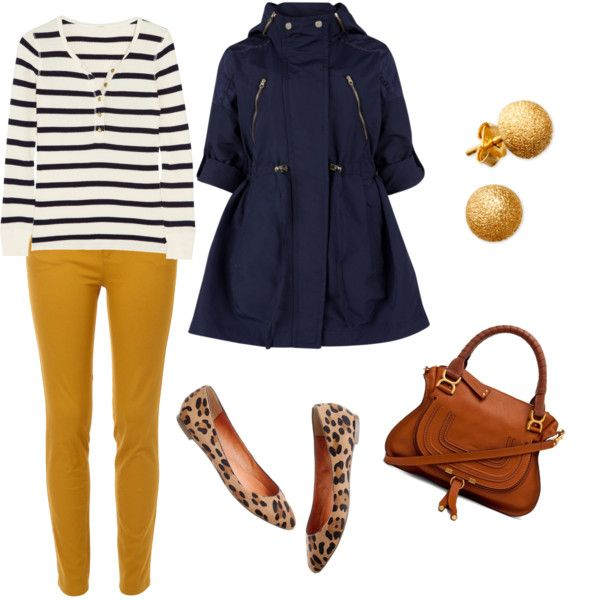 yellow-slim-pants-blue-navy-tee-stripe-blue-navy-jacket-coat-tan-shoe-flats-leopard-cognac-bag-studs-howtowear-fashion-style-outfit-spring-summer-lunch.jpg
