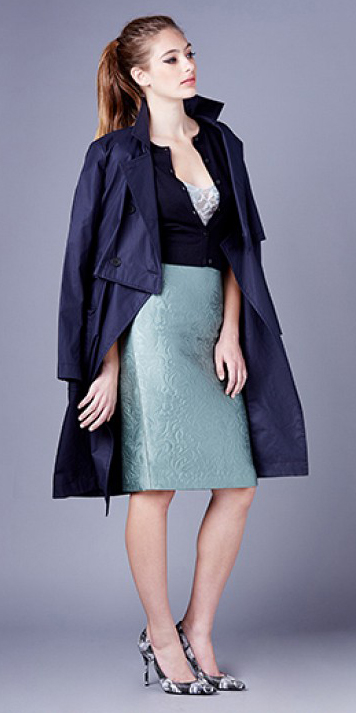 green-light-pencil-skirt-blue-navy-jacket-coat-trench-pony-howtowear-style-fashion-spring-summer-blue-navy-cardigan-hairr-dinner.jpg