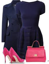 blue-navy-dress-blue-navy-jacket-coat-pea-pink-magenta-shoe-pumps-pink-magenta-bag-howtowear-fashion-style-outfit-fall-winter-aline-work.jpg