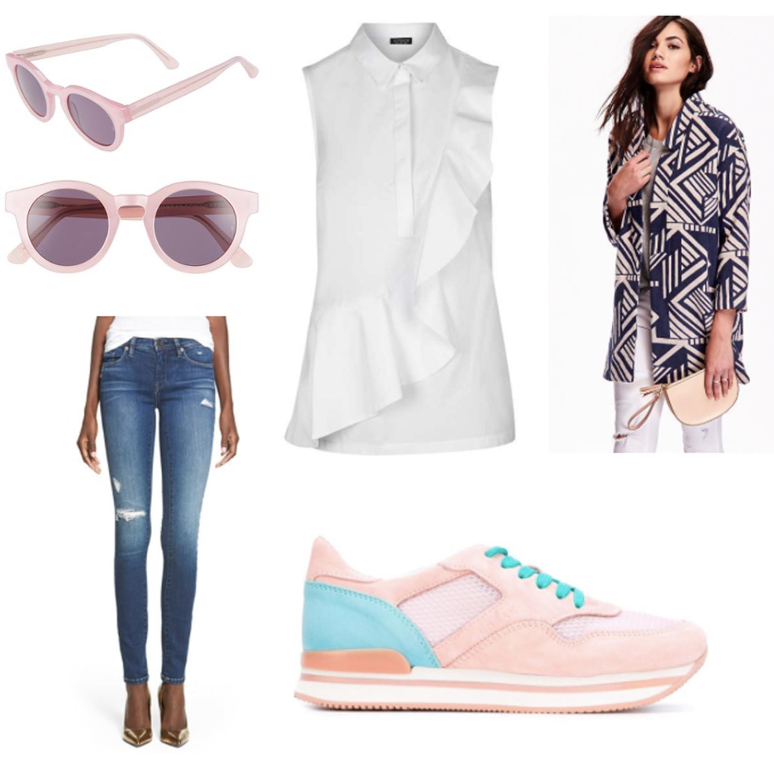 blue-navy-skinny-jeans-white-top-blouse-blue-navy-jacket-coat-print-pink-shoe-sneakers-sun-howtowear-fashion-style-outfit-spring-summer-brun-lunch.jpg