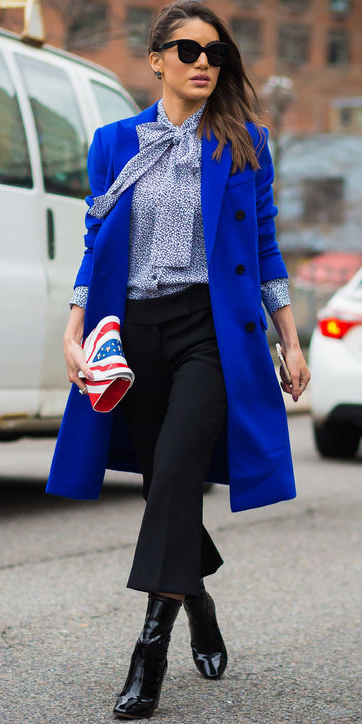 black-culottes-pants-blue-light-top-blouse-blue-navy-jacket-coat-cobalt-howtowear-fashion-style-outfit-fall-winter-bow-black-shoe-booties-sun-brun-red-bag-clutch-work.jpg