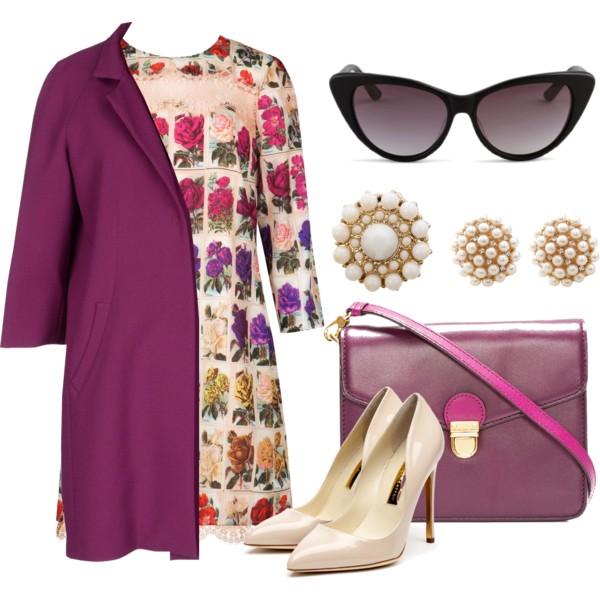 r-pink-magenta-dress-purple-royal-jacket-coat-purple-bag-tan-shoe-pumps-studs-sun-floral-print-shift-howtowear-fashion-style-outfit-spring-summer-lunch.jpg
