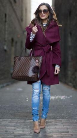blue-light-skinny-jeans-blue-navy-tee-stripe-purple-royal-jacket-coat-brown-bag-tote-sun-tan-shoe-pumps-howtowear-fashion-style-outfit-hairr-fall-winter-lunch.jpg