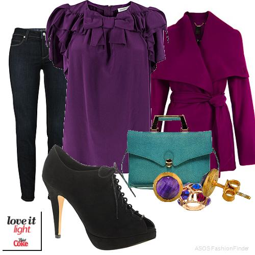blue-navy-skinny-jeans-purple-royal-top-blouse-purple-royal-jacket-coat-studs-green-bag-black-shoe-booties-howtowear-fashion-style-fall-winter-outfit-lunch.jpg