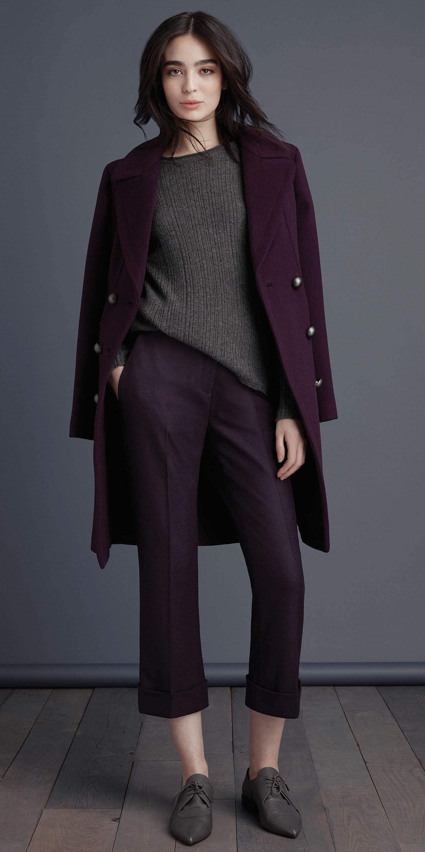 purple-royal-culottes-pants-grayd-sweater-purple-royal-jacket-coat-brun-gray-shoe-brogues-fall-winter-work.jpg