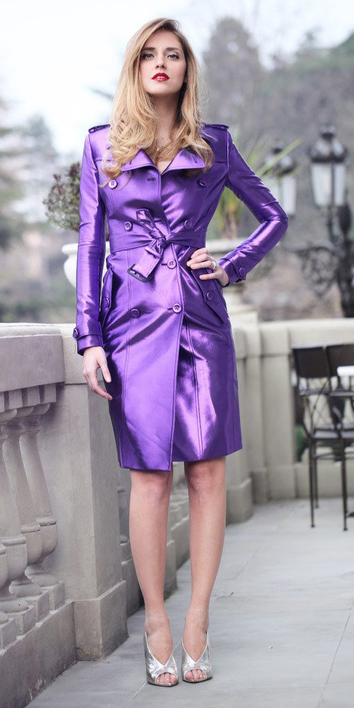 gray-shoe-sandalh-silver-blonde-purple-royal-jacket-coat-trench-spring-summer-dinner.jpg