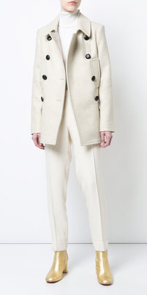 white-slim-pants-mono-tan-shoe-booties-gold-white-jacket-coat-peacoat-fall-winter-lunch.jpg