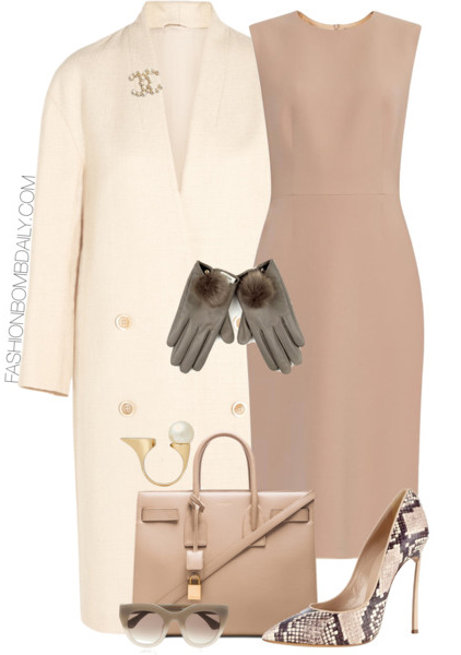 o-tan-dress-shift-white-jacket-coat-tan-bag-tan-shoe-pumps-snakeskin-gloves-sun-mono-howtowear-fashion-style-outfit-spring-summer-lunch.jpg