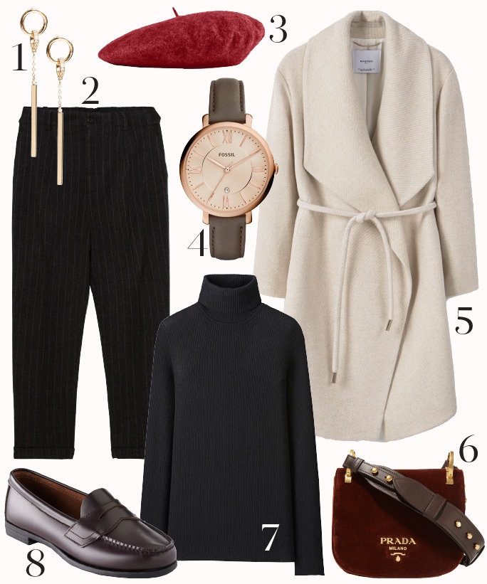 black-joggers-pants-black-sweater-turtleneck-white-jacket-coat-burgundy-shoe-flats-burgundy-bag-watch-earrings-howtowear-fashion-style-outfit-fall-winter-work.jpg