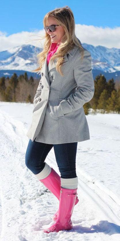 blue-navy-skinny-jeans-socks-magenta-shoe-boots-rain-snow-wellies-pink-magenta-scarf-sun-grayl-jacket-coat-fall-winter-blonde-weekend.jpg