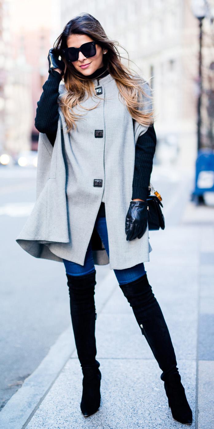 blue-med-skinny-jeans-gloves-sun-black-shoe-boots-otk-cape-grayl-jacket-coat-fall-winter-hairr-lunch.jpg
