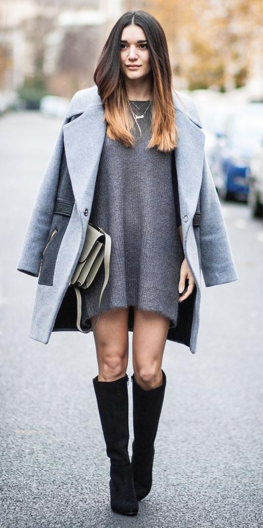 grayd-dress-grayl-jacket-coat-black-shoe-boots-necklace-sweater-wear-style-fashion-fall-winter-street-hairr-dinner.jpg
