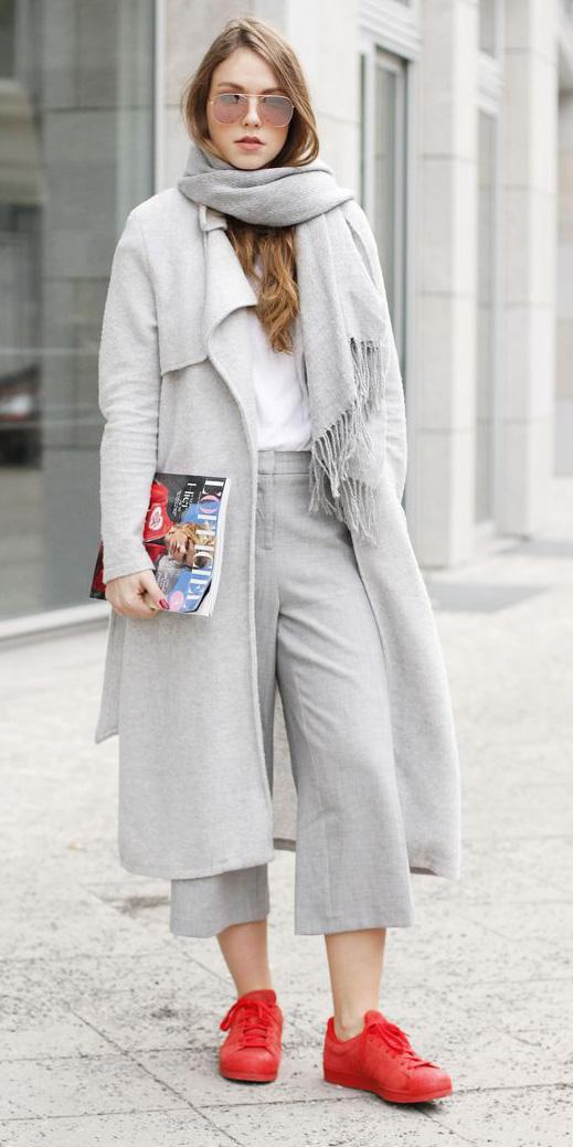 grayl-culottes-pants-red-shoe-sneakers-grayl-scarf-sun-hairr-grayl-jacket-coat-fall-winter-weekend.jpg