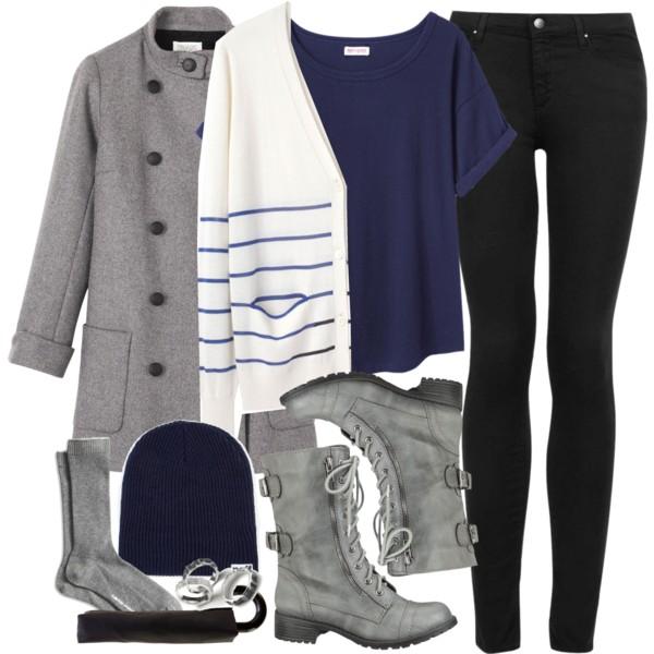 black-skinny-jeans-blue-navy-tee-white-cardiganl-gray-shoe-bootie-beanie-socks-grayl-jacket-coat-fall-winter-weekend.jpg