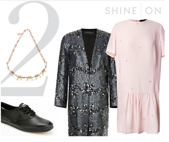 r-pink-light-dress-grayd-jacket-coat-black-shoe-sneakers-howtowear-fashion-style-outfit-fall-winter-sparkly-sequin-necklace-mini-lunch.jpg