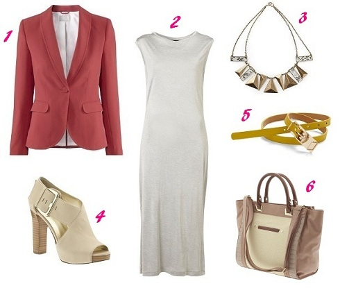 white-dress-red-jacket-blazer-tshirt-tan-bag-white-shoe-sandalh-necklace-skinny-belt-howtowear-fashion-style-outfit-spring-summer-work.jpg