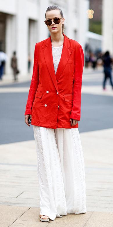 white-wideleg-pants-red-jacket-blazer-blonde-sun-bun-fall-winter-lunch.jpg