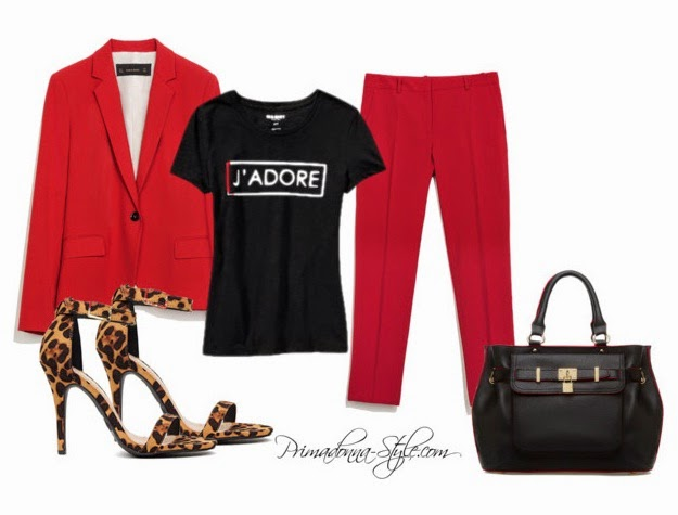 red-slim-pants-black-graphic-tee-red-jacket-blazer-suit-black-bag-leopard-print-fall-winter-dinner.jpg