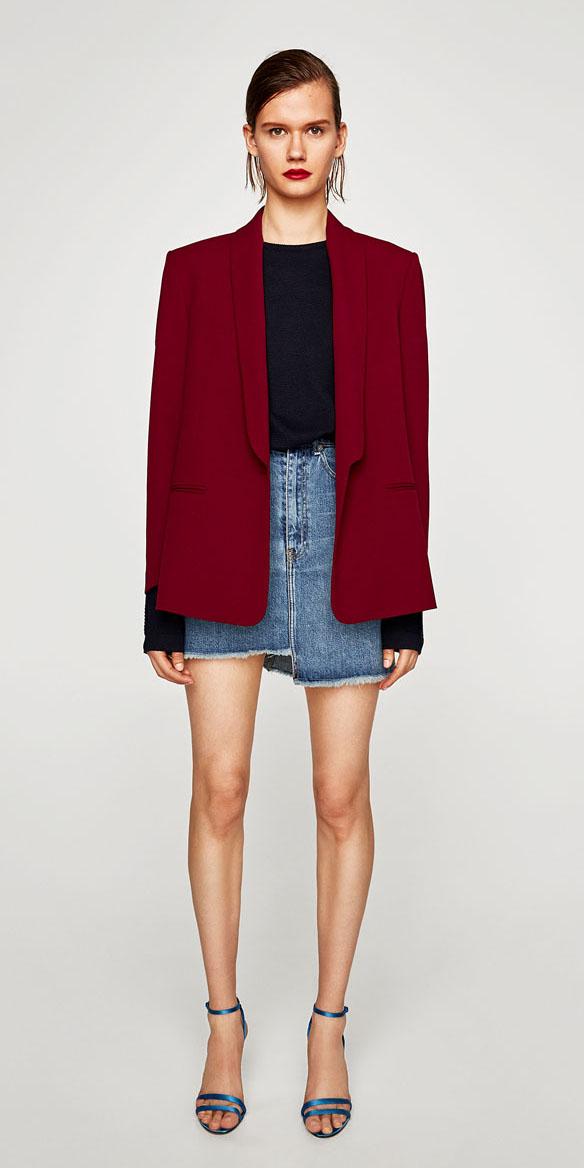 blue-light-mini-skirt-blue-navy-sweater-denim-blue-shoe-sandalh-red-jacket-blazer-fall-winter-hairr-lunch.jpg