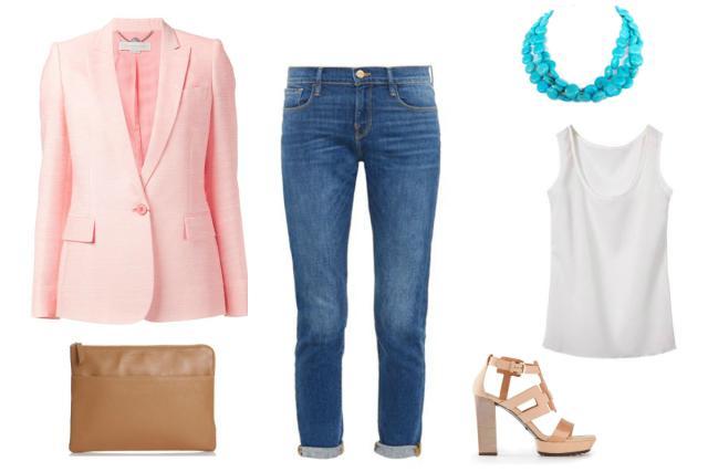 blue-med-boyfriend-jeans-white-cami-pink-light-jacket-blazer-work-outfit-turquoise-necklace-cognac-bag-clutch-tan-shoe-sandalh-spring-summer-work.jpg