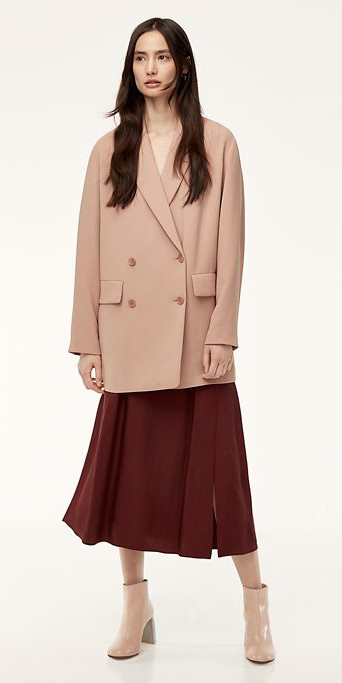 burgundy-dress-midi-tan-jacket-blazer-tan-shoe-booties-brun-fall-winter-lunch.jpg
