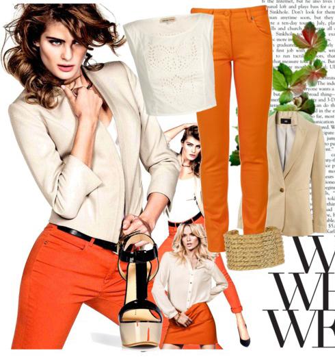orange-skinny-jeans-white-top-tan-jacket-blazer-black-shoe-sandalw-belt-howtowear-fashion-spring-summer-style-outfit-brun-lunch.jpg