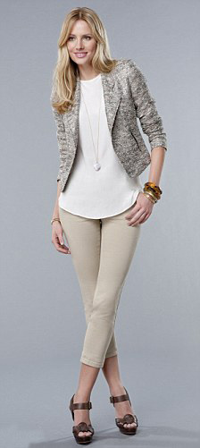o-tan-chino-pants-white-top-blouse-tan-jacket-blazer-necklace-pend-brown-shoe-sandalw-bracelet-spring-summer-style-fashion-wear-blonde-work.jpg