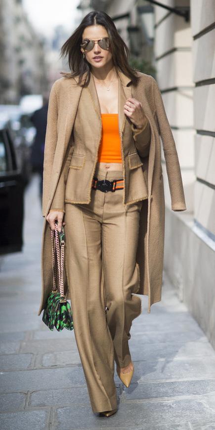 tan-wideleg-pants-tan-jacket-blazer-suit-orange-crop-top-green-bag-layer-sun-fall-winter-brun-lunch.jpg
