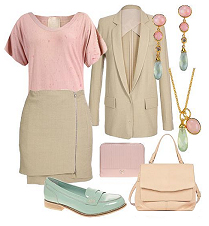 tan-mini-skirt-r-pink-light-tee-tan-jacket-blazer-tan-bag-green-shoe-loafers-earrings-necklace-pend-picnicbbq-howtowear-fashion-style-outfit-spring-summer-work.jpg