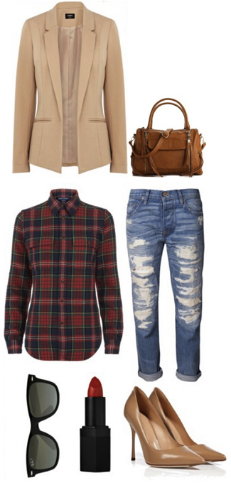 blue-med-boyfriend-jeans-red-plaid-shirt-tan-jacket-blazer-tan-shoe-pumps-cognac-bag-howtowear-fashion-style-outfit-fall-winter-date-night-crossbody-sun-dinner.jpg