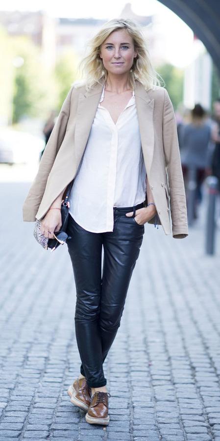 black-leggings-white-collared-shirt-o-tan-jacket-blazer-brown-shoe-brogues-tan-bag-leopard-wear-outfit-fashion-fall-winter-blonde-lunch.jpg