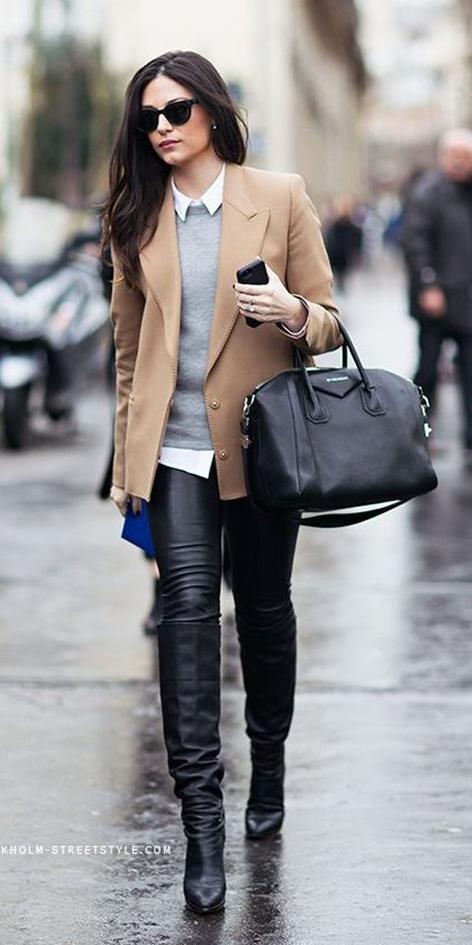 black-skinny-jeans-white-collared-shirt-grayl-sweater-o-camel-jacket-blazer-black-bag-sun-howtowear-fashion-style-outfit-fall-winter-basic-black-shoe-boots-leather-brun-work.jpg
