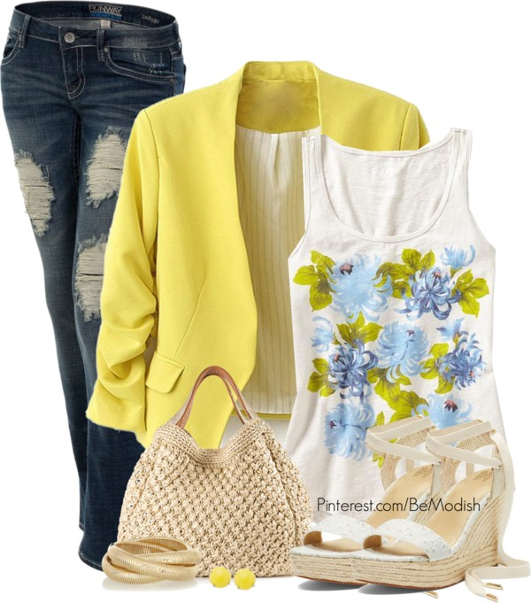 blue-navy-skinny-jeans-white-top-yellow-jacket-blazer-tan-bag-studs-bracelet-white-shoe-sandalw-howtowear-fashion-style-outfit-spring-summer-lunch.jpg