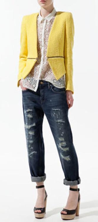 blue-navy-boyfriend-jeans-white-top-blouse-yellow-jacket-blazer-black-shoe-sandalh-howtowear-fashion-style-outfit-spring-summer-lunch.jpg