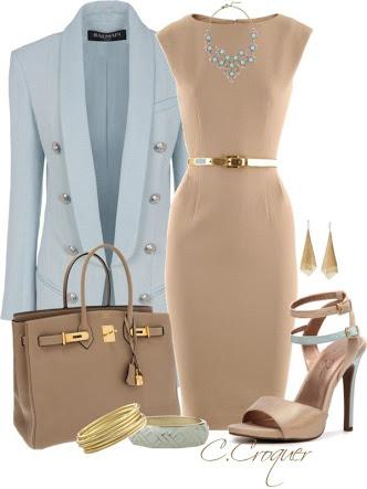 o-tan-dress-blue-light-jacket-blazer-bib-necklace-tan-shoe-sandalh-tan-bag-tote-bracelet-earrings-skinny-belt-shift-howtowear-fashion-style-outfit-spring-summer-work.jpg