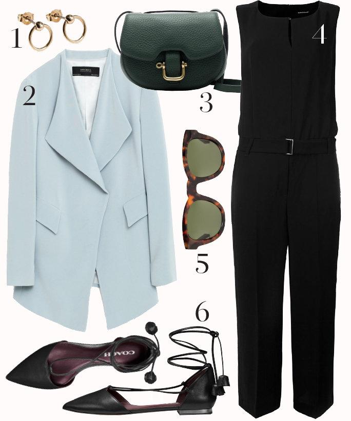 black-jumpsuit-blue-light-jacket-blazer-boyfriend-black-bag-black-shoe-flats-howtowear-style-fashion-outfit-fall-winter-pastel-tie-sun-earrings-work.jpg