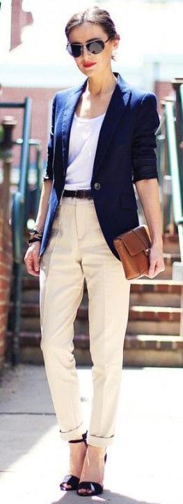 white-chino-pants-cream-white-tee-belt-blue-navy-jacket-blazer-sun-spring-summer-brun-work.jpg
