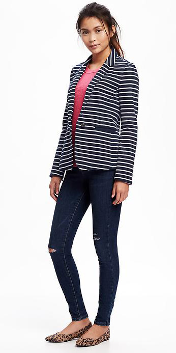 blue-navy-skinny-jeans-r-pink-magenta-sweater-howtowear-style-fashion-spring-summer-blue-navy-jacket-blazer-stripe-tan-shoe-flats-leopard-pony-brun-lunch.jpg