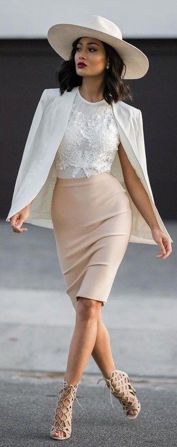 o-tan-pencil-skirt-white-top-white-jacket-blazer-hat-tan-shoe-sandalh-howtowear-fashion-style-spring-summer-outfit-brun-lunch.jpg