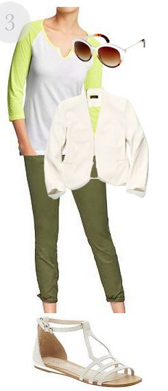 green-olive-skinny-jeans-white-tee-baseball-white-jacket-blazer-white-shoe-sandals-sun-howtowear-fashion-style-outfit-spring-summer-weekend.jpg