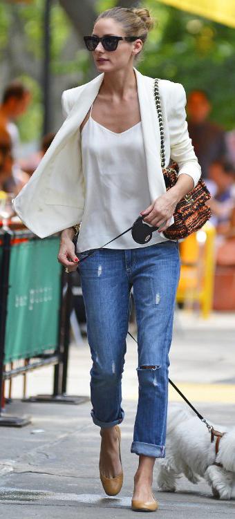 blue-med-boyfriend-jeans-white-cami-bun-sun-tan-shoe-flats-walks-dog-silk-cami-white-jacket-blazer-wear-outfit-spring-summer-oliviapalermo-orange-bag-lunch.jpeg