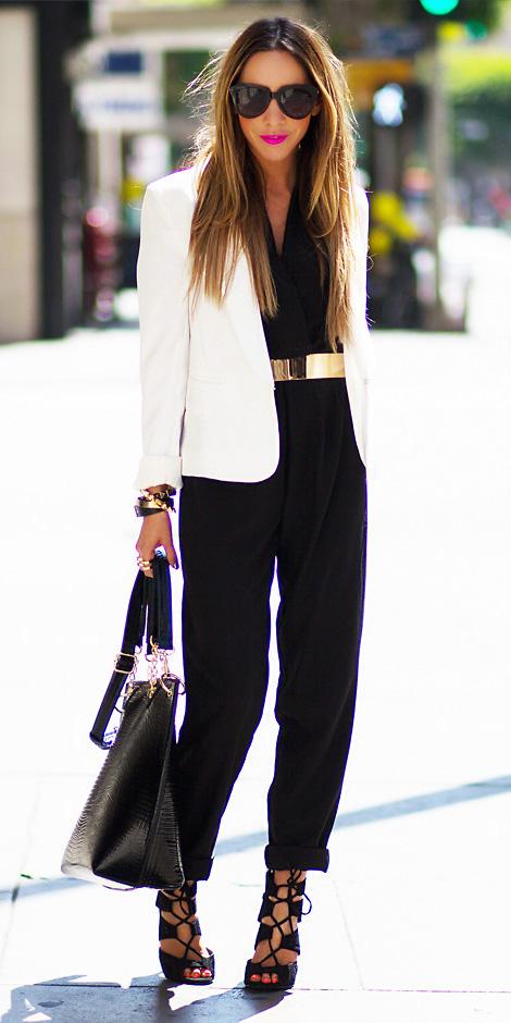 black-jumpsuit-belt-white-jacket-blazer-black-shoe-sandalh-black-bag-howtowear-spring-summer-hairr-dinner.jpg