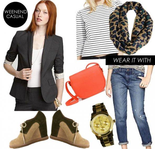 blue-med-boyfriend-jeans-blue-navy-tee-stripe-grayd-jacket-blazer-tan-scarf-leopard-orange-bag-watch-tan-shoe-booties-howtowear-fashion-style-outfit-hairr-fall-winter-weekend.jpeg