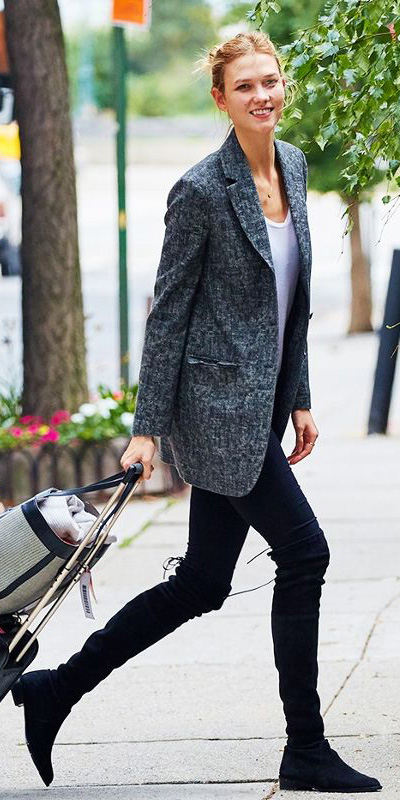 black-leggings-white-tee-grayd-jacket-blazer-bun-black-shoe-boots-fall-winter-blonde-work.jpg