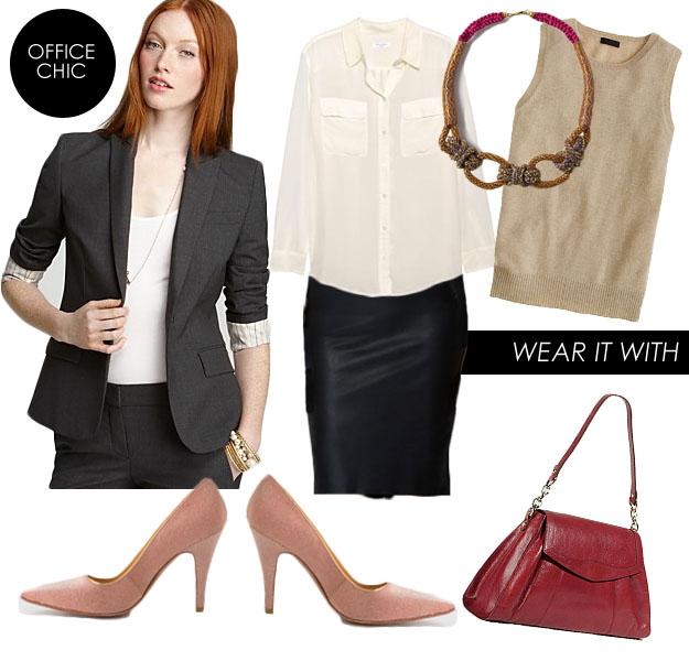 black-pencil-skirt-tan-sweater-sleeveless-grayd-jacket-blazer-red-bag-bib-necklace-pink-shoe-pumps-spring-summer-hairr-work.jpg